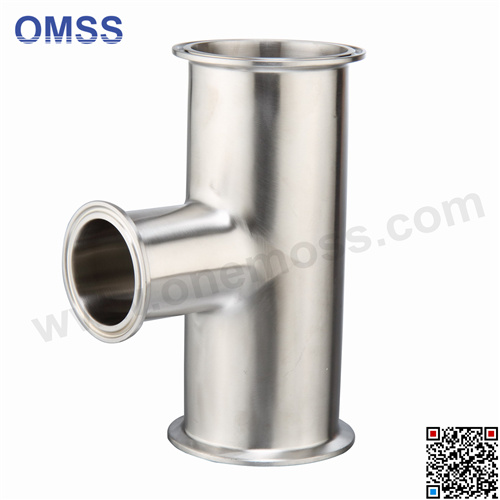 Stainless Steel Hygienic Clamped Equal Tee pictures & photos