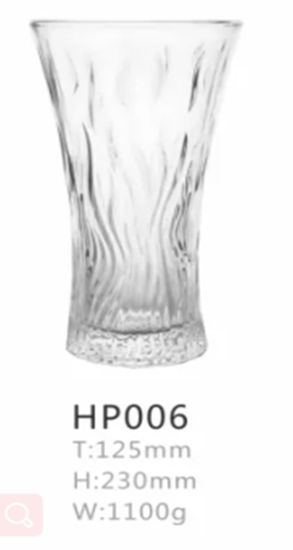 Popular Selling Clear Bulk Wholesale Glass Vases pictures & photos