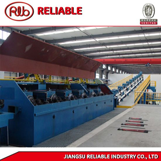 Full-Automatic Electrolytic Copper Continuous Casting and Rolling Production Line