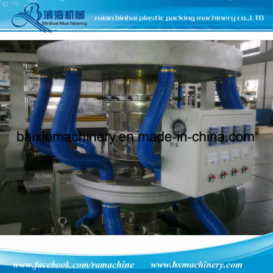 Three Layer Courier Bag HDPE Film Blowing Machine pictures & photos
