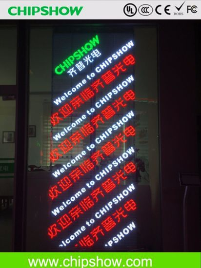 LED Advertising Transparent Screen Digital Price Display pictures & photos