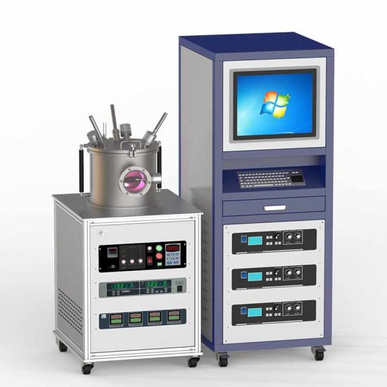 300W Metal Magnetron Sputtering Vacuum PVD Coating Machine