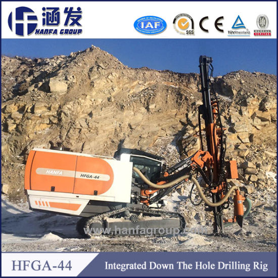 Hfga-44 Surface Crawler Down-The-Hole Drilling Rigs pictures & photos