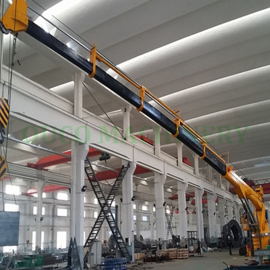 China Qatar Clients Tailor-Made 4t30m Electric Hydraulic Crane with