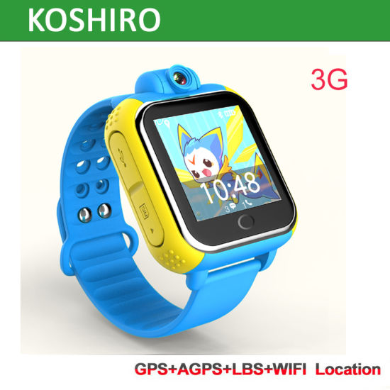 3G Watch Mobile Phone with GPS for Kids pictures & photos