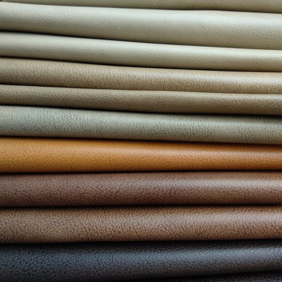 Furniture Bonded Fabric Synthetic PU/PVC Material Artificial Fabric Leather for Sofa Upholstery