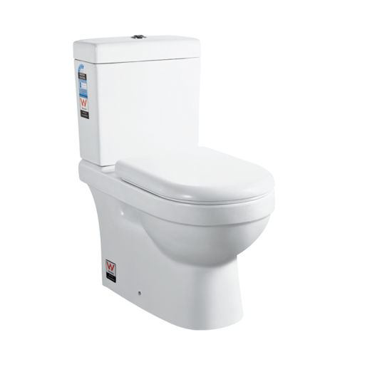 6002 Two Piece Western Toilet Ceramic Sanitary Ware pictures & photos