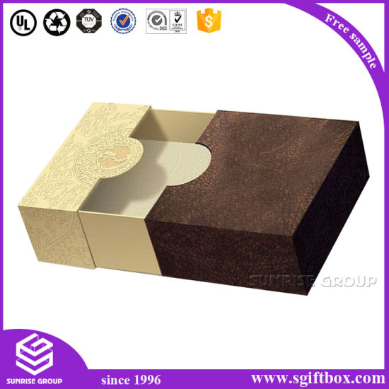 Luxury Special Design Paper Packaging Drawer Box pictures & photos