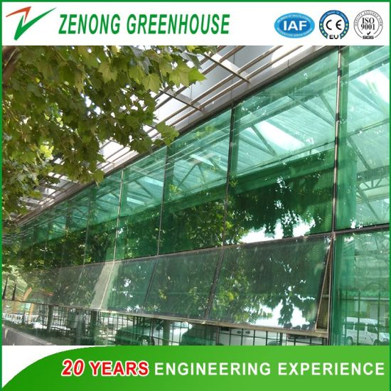 Agriculture/Commercial Glass Greenhouse for Planting/Flowers/Seed Breeding/Eco Restaurants/Swimming Pool/Tourism Fruit Picking