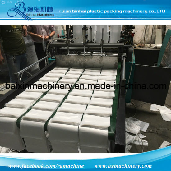 Fully Automatic Grocery Plastic Bags Making Machine pictures & photos