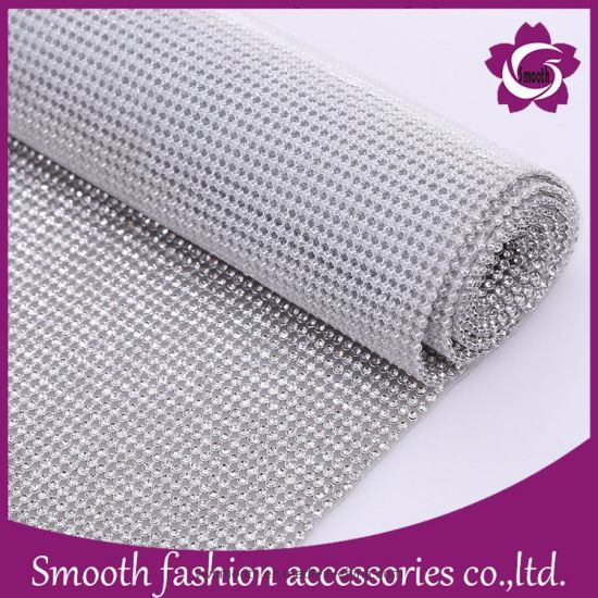 DIY Rhinestone Mesh for Garment for Handgbag for Shoes