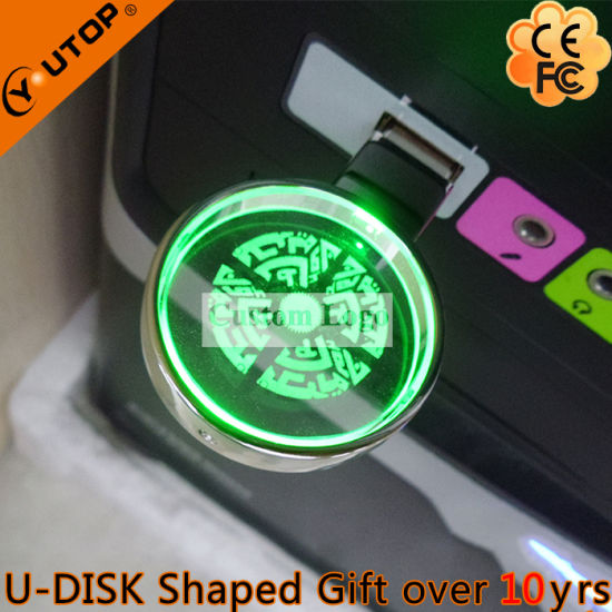 Creative Magnifying Glass/Lens Crystal USB Pendrive as Gifts (YT-3270-10) pictures & photos