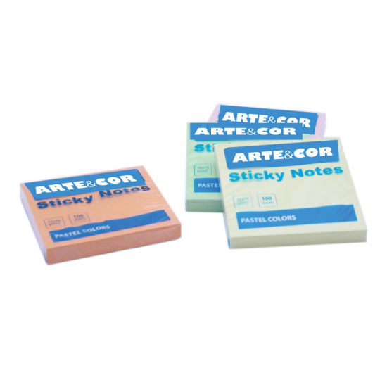 Pastel Colors 100 Sheets Mini Sticky Memo Note Pad pictures & photos