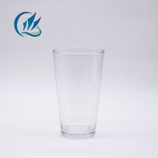 400ml Customized Decorating Firing Glass Water Drinking Tumbler Cup