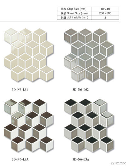 3D Ceramic Mosaic Special Shape pictures & photos