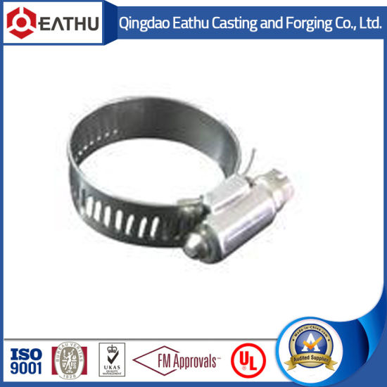 China Stainless Steel European Type Hose Clamps With Different