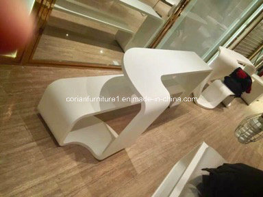 Hi Macs Acrylic Solid Surface Shop Display Shelving pictures & photos