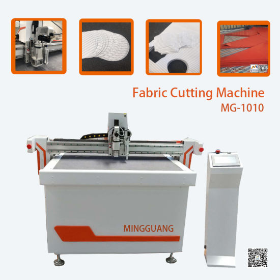 Imported Guideway Rack Vibratory\Oscillating Knife Cutting Machine for Clothing\ Leather\ PVC\EVA\Paper Box