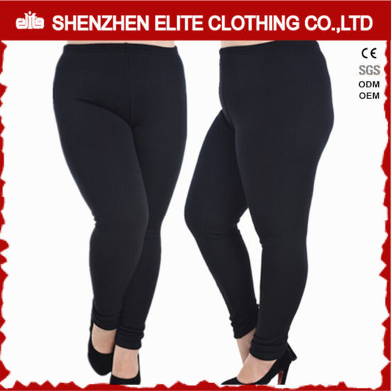 54aaf2ebdd4 Womens Black Yoga Clothing Leggings in Plus Size (ELTFLI-23) pictures    photos
