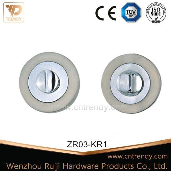 High Quality European Zinc Escutcheon, Door Lock Escutcheon (ZR03-KR1)