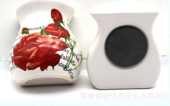 Cheap Price Ceramic Bottle Fridge Magnet As Home Deco