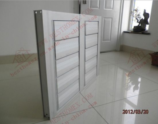 Eletrical Aluiminium Louvers Windows Systems (BHA-BL06) pictures & photos