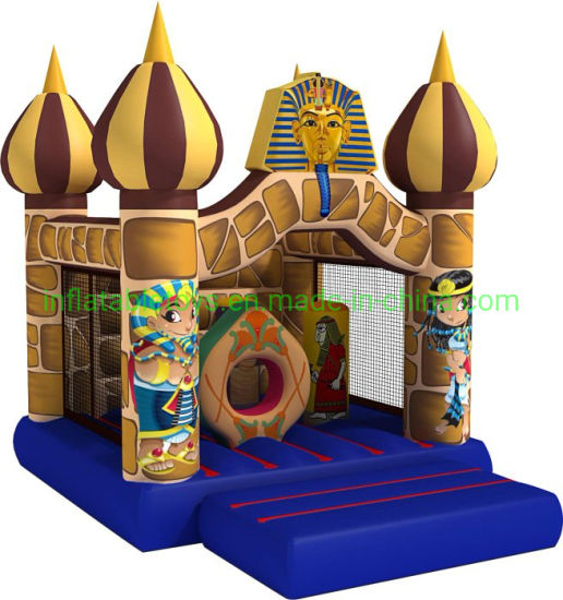 Outdoor Inflatable Egypt Pharaoh Castle Bouncy House pictures & photos