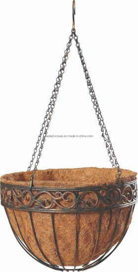 Wrought Iron Hanging Flower Baskets