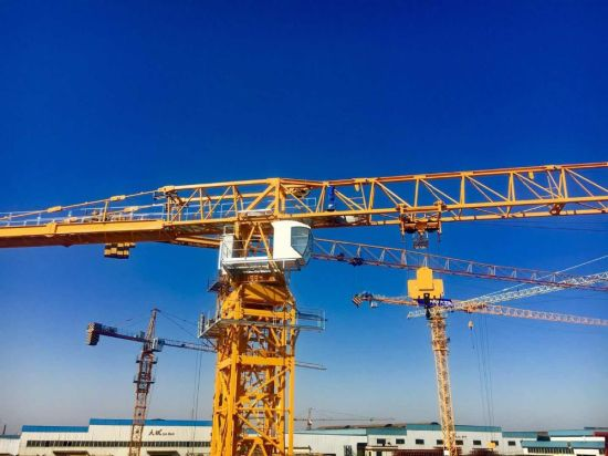 Dahan 10t Qtz125 (6015) Flat Top Tower Crane