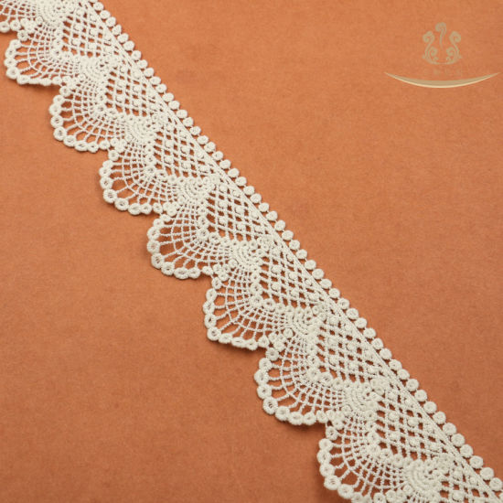 L30023 High Quality African Cotton Garment Fabric Lace