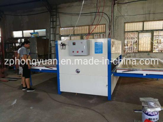 Wood Powder Coating Machine for Vacuum Heat Transfer Hot Transfer