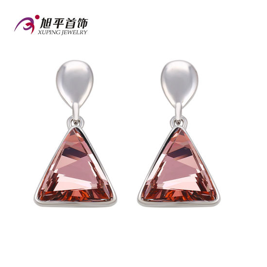 E-15 Fashion Square Zircon Jewelry Eardrop with Crystals From Swarovski Jewelry pictures & photos