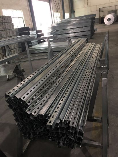Galvanized Steel Slotted Unistrut Channel pictures & photos