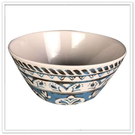 Bulk Buy From China Ceramic-Like 100% Melamine Salad Bowl pictures & photos