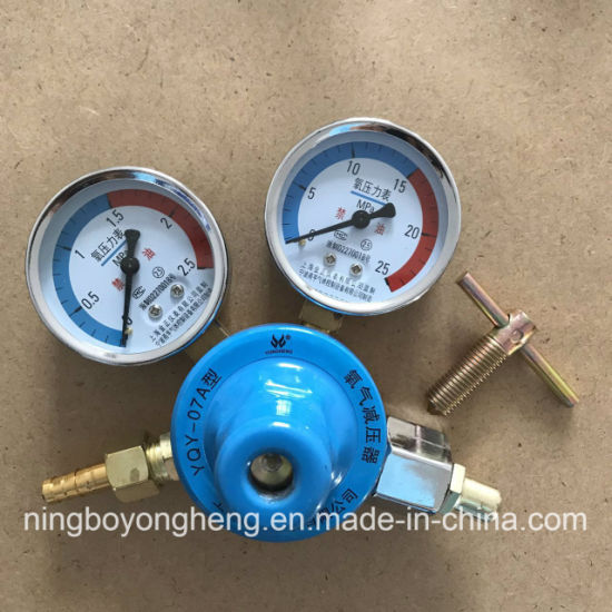 Medium Duty All Brass Gas Regulators Acetelyne Gas Regulator pictures & photos