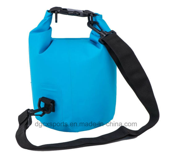 Hot Selling PVC Waterproof Dry Bag with Shoulder Strap