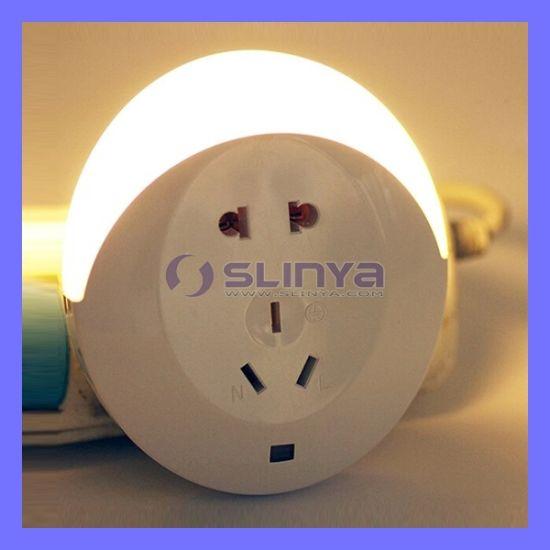 Mini Modern Wall LED Socket Indoor Baby Sleeping Night Light Automatic Sensor LED Night Light