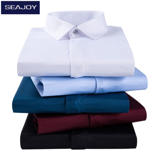 Quality Cotton Business Long Sleeve Mens Dress Shirts