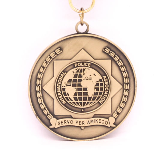 3D Stamping Metal Gold Volleyball Medal pictures & photos