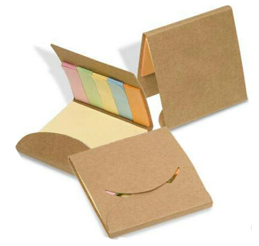 High Quality Kraft Paper Sticky Notepad pictures & photos