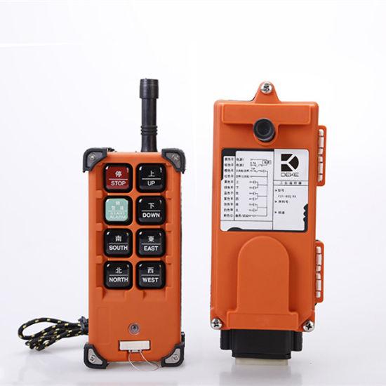 IP65 Crane Hoist Elevator Radio Remote Control F21-6s