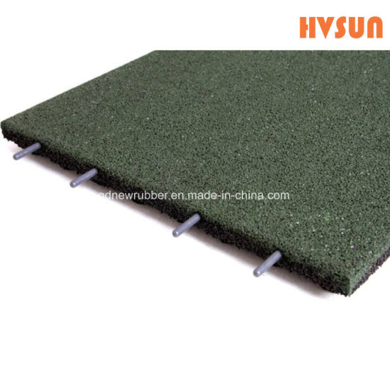 China High Quality Epdm And Sbr Granulated Rubber Tile Noise