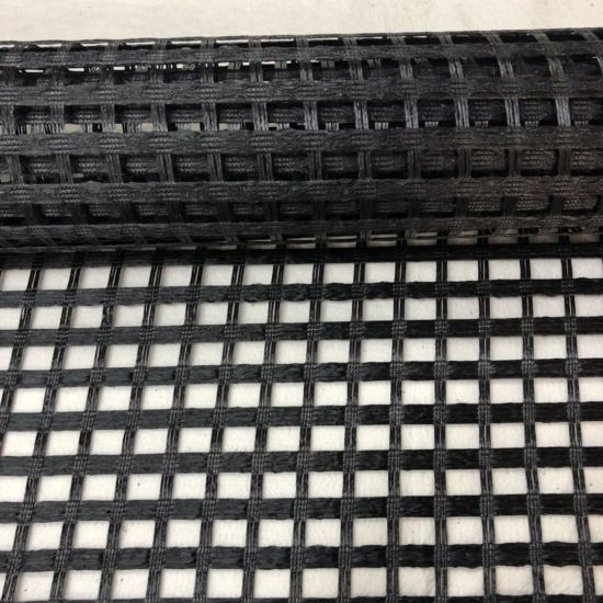 Factory Price Uniaxial/Biaxial Polyester Geogrid with PVC Coating pictures & photos