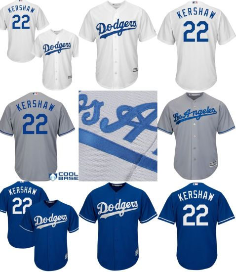 163656d8e China Los Angeles Dodgers 22 Clayton Kershaw Cool Base Baseball ...