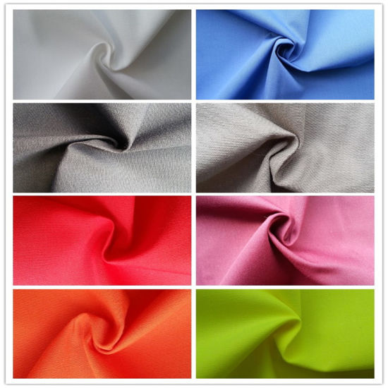 80%Polyester 20%Cotton Plain Uniform Fabric pictures & photos
