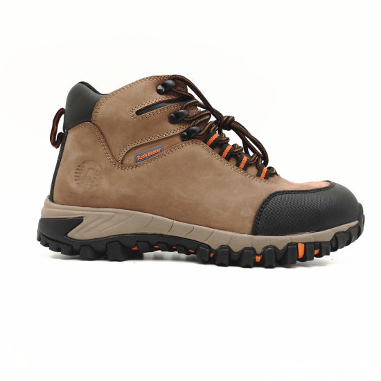 Genunie Leather Hiker Safety Shoe for Outdoor