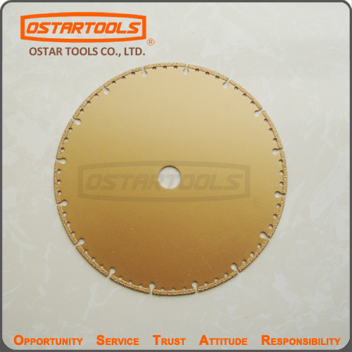 Vacuum Brazed Diamond Cutting Disc Saw Blade pictures & photos