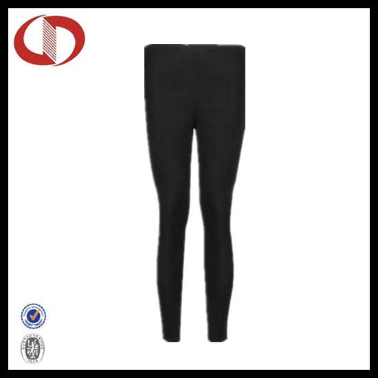 Custom Made Blank Black Tights Running Pants for Girls