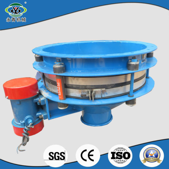 Bin bottom vibrator