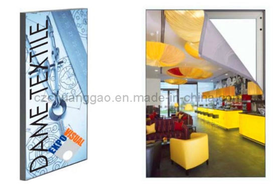 Aluminium Wall Mounted Fabric Frame pictures & photos